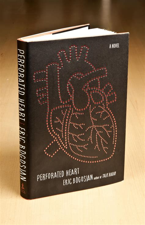 perforated heart book