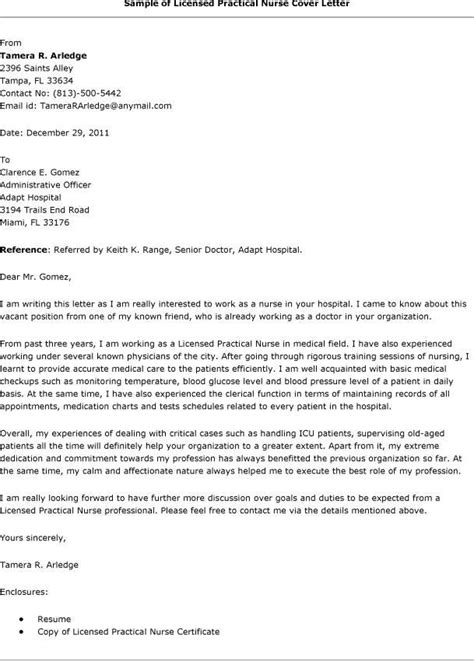 sle lpn cover letter the best letter sle