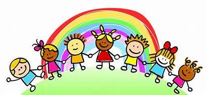 Clipart Rights Child Feelings Children Rainbow Transparent