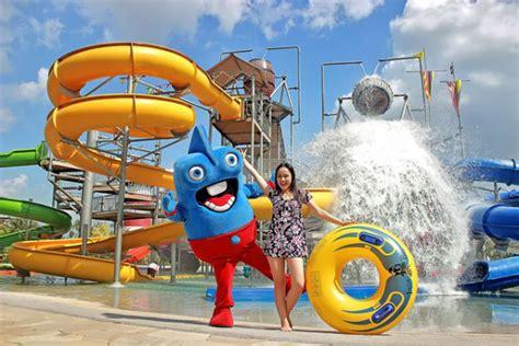 tantangan wisata jogja bay waterpark   wahana seru