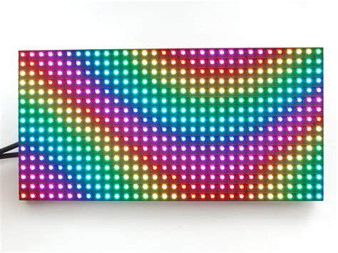 panel led rgb smd p indoor matriz  electronilab
