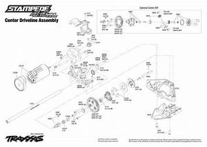 Traxxas Stampede 2wd Parts Diagram