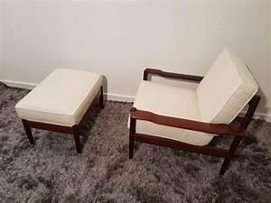 Repose Pied Design : 2 fauteuils repose pieds design benoit de moffarts vide grenier belgique vide maison ~ Teatrodelosmanantiales.com Idées de Décoration