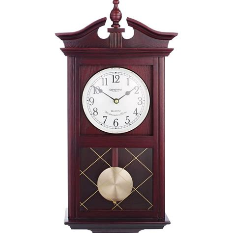 buy home regulator pendulum wall clock oak at argos