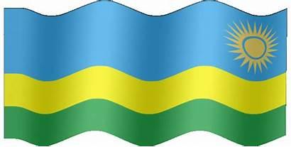 Flag Rwanda Animated Waving Animate Graphics
