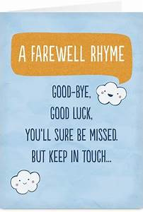 19 best Goodbye cards images on Pinterest   Cards ...