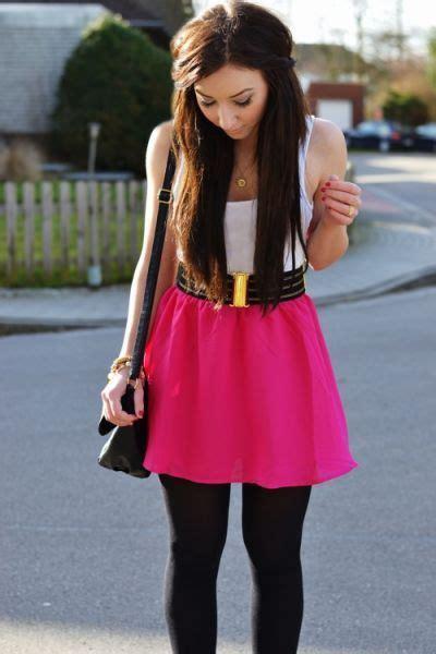 legging black pink skirt fashion closets