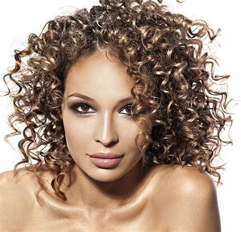 how to style permed curly hair 17 best images about hair on hair