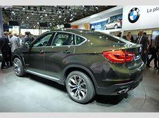 2014 Paris Motor Show The New BMW X6