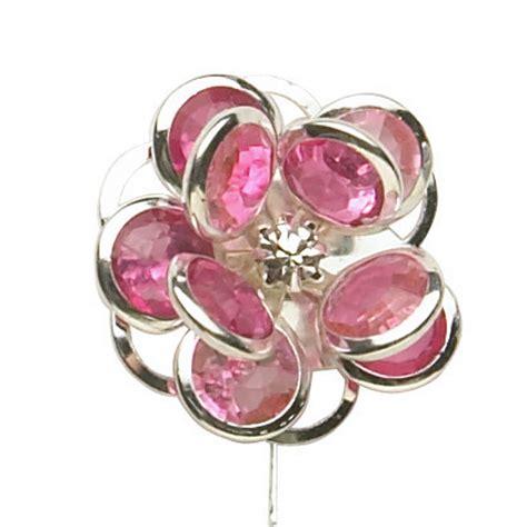 lomey flower gems wedding bouquet jewelry