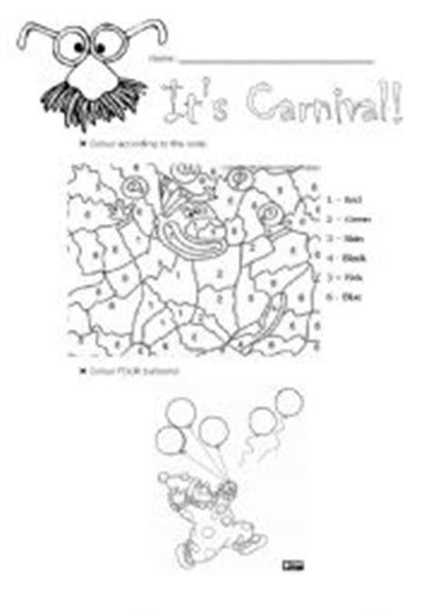 Carnival  Esl Worksheet By Pereiramarta