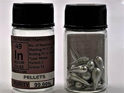 Osmium Element Indium Pellets Grams Metal Bestseller