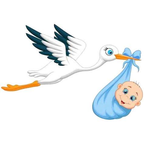 stickers chambre bébé jungle sticker bébé et cigogne un autocollant adhésif pour