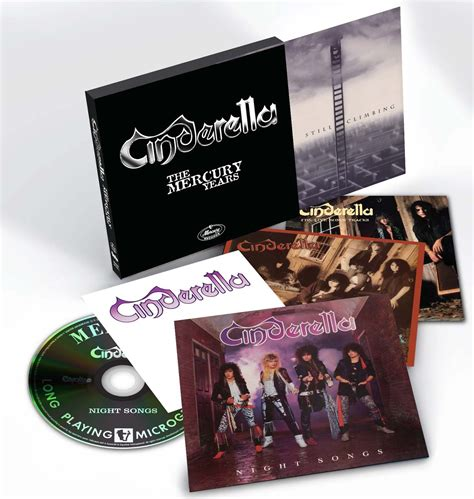 cinderella mercury years box set coming  classic bands