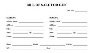 Sle Of A Bill Of Sale For An Automobile by Blank Bill Of Sale