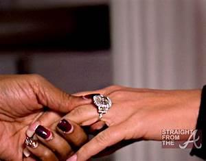 kim zolciak engagement ring With kroy biermann wedding ring