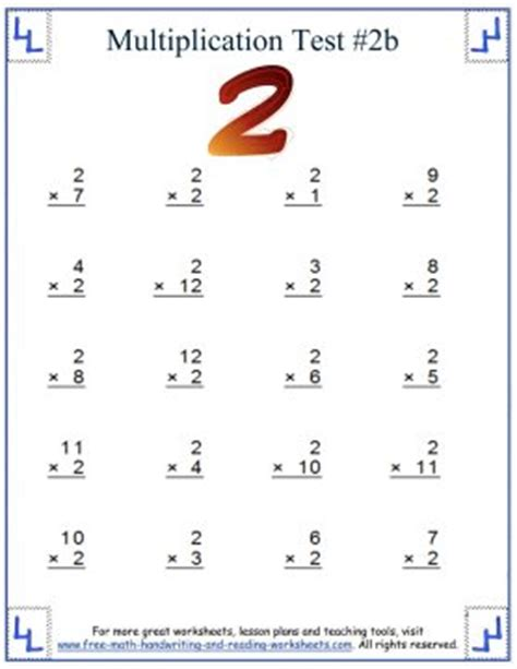 2s multiplication worksheet multiplication practice