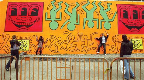 keith haring mural nyc 13 artists who died untimely deaths britannica