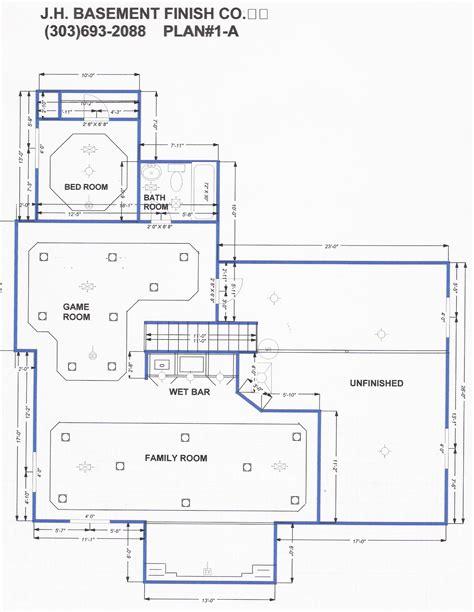 Basement Finish Floor Plans « Home Plans & Home Design