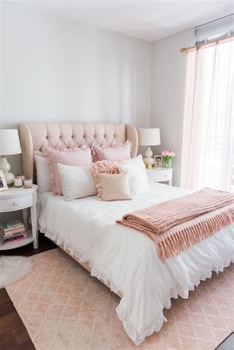 Bedroom Decorating Ideas For His And by My Chicago Bedroom Parisian Chic Blush Pink Living
