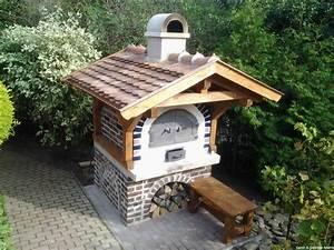 backofen fur garten selber bauen kreative ideen fur With französischer balkon mit pizza und brotbackofen garten