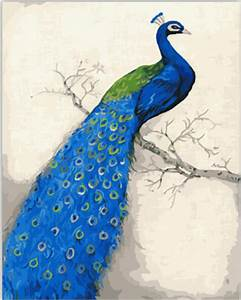 Online Buy Wholesale vintage peacock art from China
