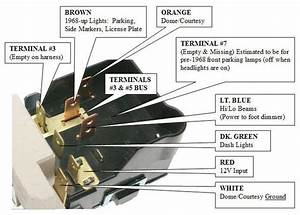 64 Chevelle Headlight Switch Wiring Diagram