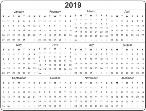 full year calendar excel task management template worksheet