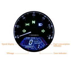 Motorcycle Odometer Speedometer Tachometer Gauge Rpm 12000