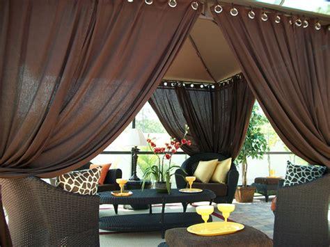 patio pizazz indoor outdoor gazebo drapes curtainsprice