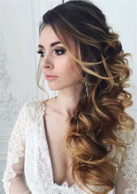 25 ideas about side swept curls on side