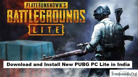 install pubg pc lite  india  country