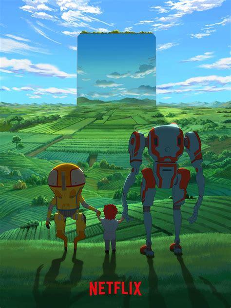 neue netflix original anime serie eden  regieren