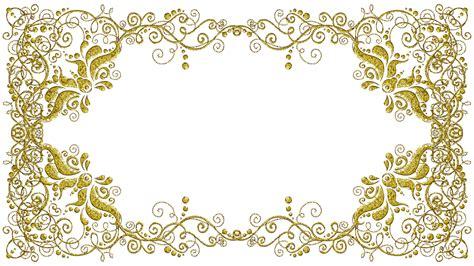 Molduras Com Arabescos Dourados