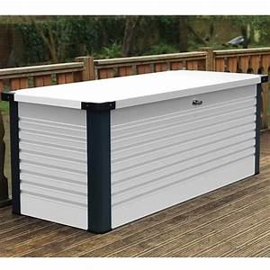Coffre De Terrasse : coffre de jardin en m tal patiobox small ~ Melissatoandfro.com Idées de Décoration