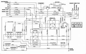Wiring Diagram Source  Cub Cadet Lt1045 Mower Deck Diagram