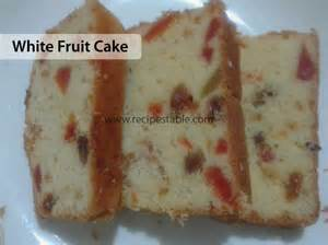 White Cake Recipes with Fruit