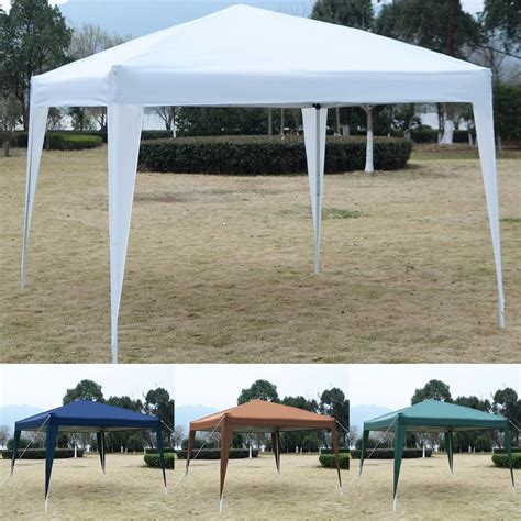 goplus ez pop canopy tent gazebo wedding party tent shelter carry bag op