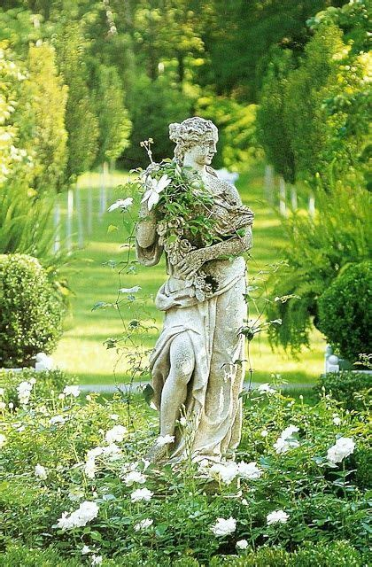 Beautiful Garden Statuary by 17 Best Images About White And Green Gardens On