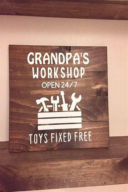 Gifts Birthday Wooden Workshop Gift Fathers Daddy