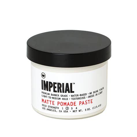 imperial matte pomade imperial matte pomade paste 118ml