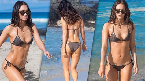 Megan Fox Shows Off Incredible Post-Baby Body In Teeny