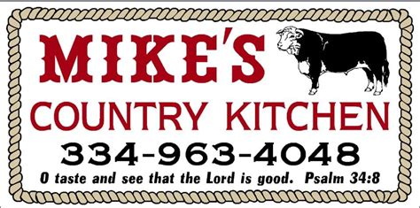 mikes country kitchen mike s country kitchen posts pine hill alabama menu 4127