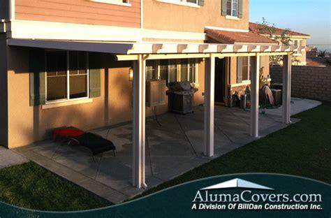 aluminum patio covers yorba alumawood