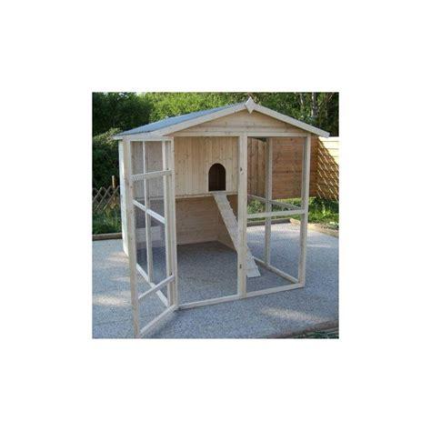 toit bitume abri jardin poulailler en bois 16mm fsc pour 6 224 10 poules