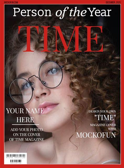 [FREE] Time Magazine Cover Template - MockoFUN