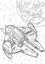 Wars Star Coloring Spaceship Coloriage Ship Magique Animal Spaceships Peliculas Imagen Millenium Falcon Simple Space Cartoon Doghousemusic sketch template