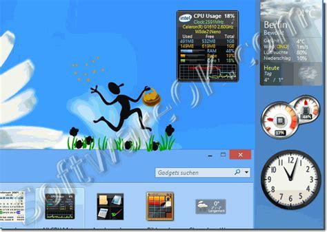 gadgets bureau windows 7 gadgets for windows 7 starter desktop images