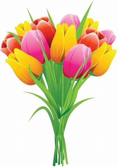 Flowers Clipart Flower Tulips Spring Clip Easter