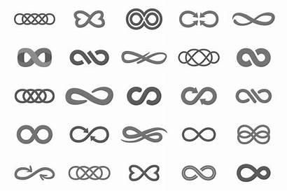 Infinity Symbol Creative Symbols Creativemarket Tattoo Cool